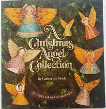 Christmas Angel Collection 12 Angels Cut & Color ~ Catherine Stock adult or kids
