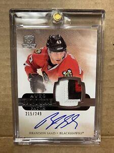 N52 2011-12 Upper Deck The Cup Hockey #132 Brandon Saad RPA /249 Blackhawks