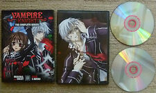 Vampire Knight The Complete Series 2-Disc Set DVD Original & Uncut Season 1 One