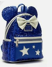Sac à dos Loungefly Minnie Disney Paris WISHES COME TRUE BLUE 2020 New dlp dlrp
