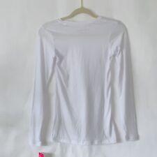Beyond Scrubs Women's  long sleeve top white Sz XS
