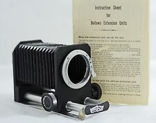 VINTAGE PRINZ BELLOWS FOR EXAKTA CAMERAS