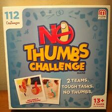No Thumbs Challenge Game Opened Box