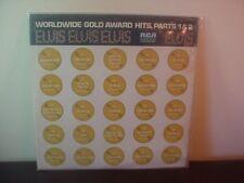 1974 ELVIS PRESLEY DOUBLE ALBUM SET RCA Gold Award Hits Parts 1 & 2 ~ORIG SEALED