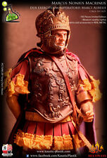 "Kaustic Plastic 1/6 Scale 12"" Ancient Roman General Marcus Figure KP-09 LIMITED"