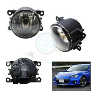 For Subaru BRZ 2013-2016 RH & LH 2pcs Clear Lens Fog Lights Driving Light Lamp j