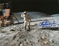 Charles Duke ( Apollo 16 ) SIGNED 8X10 PHOTO AUTOGRAPH REPRINT