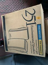 Bose 251 Environmental Speakers (Black) unopened box brand new perfect condition
