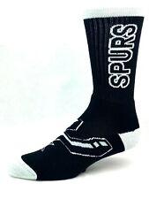 San Antonio Spur Black & Gray RMC Crush Crew Socks