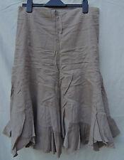 Jane Norman Gypsy Skirt - 14 - Beige / Stone