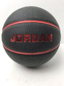 Air Jordan Black & Red Youth Basketball Used