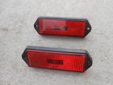 ALFA ROMEO GTV6 GTV-6 ALFETTA Red Side Marker Lights