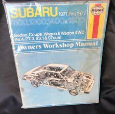 Brilliant Repairmanuals Subaru 1400 1600 1977 Wiring Diagrams Wiring Diagram Wiring Cloud Oideiuggs Outletorg
