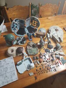 Vintage Star Wars Galoob Micro Machines Action Fleet * HUGE LOT * Ships & Figs *