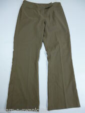 ☆ DOROTHY PERKINS Ladies Brown Bootcut Work Trousers UK 10 EU 38 W27 L27 ☆