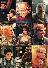Star Trek Deep Space Nine DS9 Profiles Quark's Bar Quotes Chase 9 Card Set