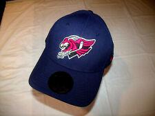 Springfield Falcons Ahl All Purple Hat New Era 39Thirty Flex/Stretch L/Xl New