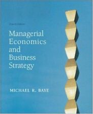 Managerial Economics & Business Strategy w/Data Di