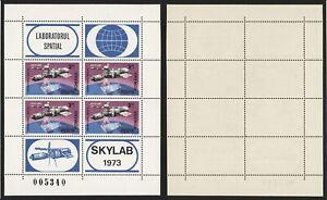 Romania 1973 Miniature Sheet - MNH Stamps Space I231