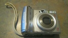 Canon PowerShot A550 7.1 MP  WITH 4X Optical Zoom Digital Camera - Silver