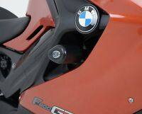 R&G White Crash Protectors - Aero Style for BMW F800GT 2014