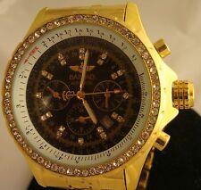 Men's Baisiao Automatic Watch Chronograph Water Resistant UNIQUE HTF Gems