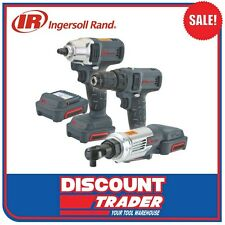 Ingersoll Rand Lithium-ion Cordless 12v 3 Tool Combo Kit Wrd1130an-k2 Wrd1130-k2