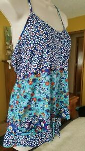 In Bloom Floral Print Knit Pajamas Size SP New with Tags