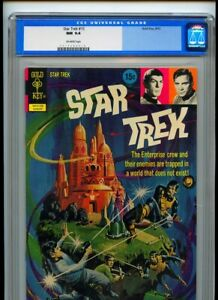 Star Trek #15 Gold Key CGC Universal NM 9.4 Off White Pages