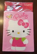 HELLO KITTY Birthday Invitation And Thank You Postcards 8 Of Each New In Package