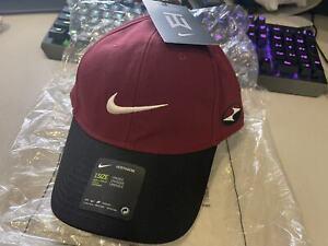 Tiger Woods Nike Heritage86 Red Black CZ5841-677 Golf Hat Cap Adjustable Unisex