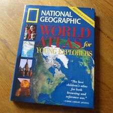 National Geographic World Atlas for Young Explorers (Revised & Expanded)