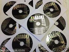 27 KARAOKE HITS CDG Disc Set 500 SGS ROCK COUNTRY OLDIES R&B SOUL Free Song Book