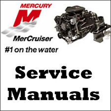 MERCURY MERCRUISER 4.3L V6 262 CID #25 MARINE SERVICE REPAIR MANUAL
