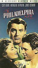 The Philadelphia Story VHS 1940 Black & White Cary Grant Katherine Hepburn