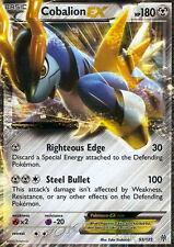 Pokemon Plasma Storm Cobalion-EX - 93/135 - Ultra Rare Card