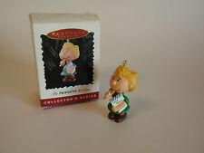 Hallmark Keepsake Ornament 1996 Handcrafted Peanuts Sally Dear Santa List IOB