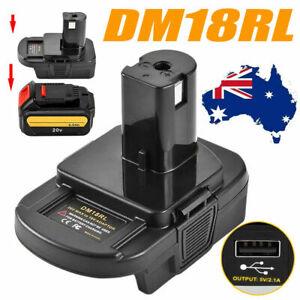 Battery Convert Adapter For Milwaukee DM18 18V dewalt battery to Ryobi 18V Tools