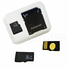 Micro SD 32G 32GB Memory Card TF Card Adapter For Samsung Galaxy S7 S6 S5 A3 A5