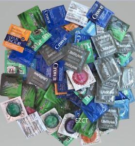 Retail Bulk 100 Count Assortment Mix variety condoms Regular Size