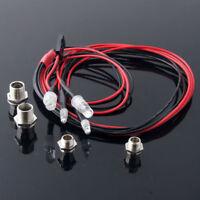 4pcs LED RC Model Drift Car Night 5mm & 3mm Headlamps White Red LED Light HOT