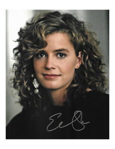"""8x10"""" Print Signed by Elisabeth Shue 100% Authentic With COA"""