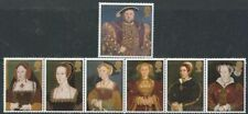 GB MNH STAMP SET 1997 Henry VIII & Wives SG 1965-1971 THE GREAT TUDOR