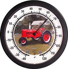 "New Vintage 1939-1953 McCormick Farmall Model H Tractor Thermometer Massive 14"""