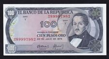 COLOMBIA ------ 100  PESOS  1974 ---- XF+ ------