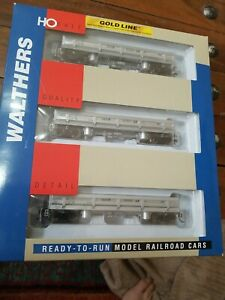 WALTHERS 932-37909 GOLD LINE DIFCO DUMP CAR 3-PACK D&RGW RIO GRANDE NEW