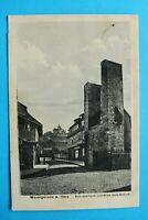 Sachsen-Anhalt AK Wernigerode a Harz 1923 Straße Schusterturm Geschäfte Fachwerk