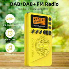 New Pocket Size DAB Digital Radio FM Receiver RDS With LED Display Portable MP3