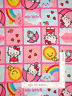 Hello Kitty Cat Rain Shine Patches Cotton Fabric Springs CP42484 By The Yard