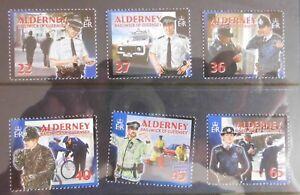 Alderney 2003 SG217-222  Set. MNH -- Police.